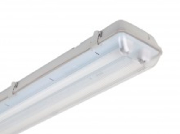 SIMON LIGHTING 5-333246 LUMINARIA ESTANCA/O -FL+2x58W G13 WH9010+EQUIPO  ELECTRONICO