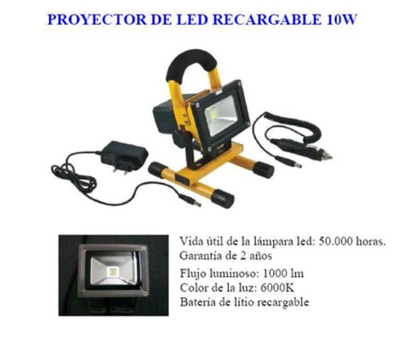 ARLUS 492.010BE PROYECTOR LED DE EMERGENCIA 10W