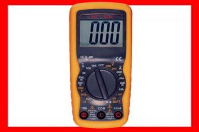 HT-INSTRUMENTS 13041 MULTIMETRO NUMERO DIGITAL G41 ESCALA MANUAL