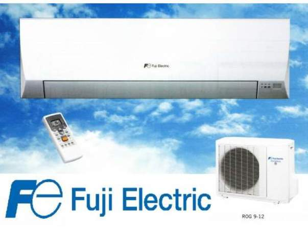 FUJI ELECTRIC 3NFE8705 SPLIT PARED INVERTER LLC FUJI ELECTRIC ASF12UI LLC