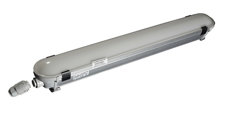 AIRIS LP219C LUMINARIA IP65 PC 1200mm 19W 4800-5300ºK 1800 lm