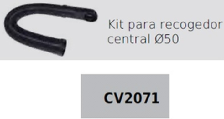 CVTECH CV2071 KIT PROLONGADOR TOMA CENEFA(recogedor Central) D50mm